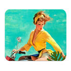 America Old Fashioned Symbol Soft Rubber Mouse Pad Laptop Computer PC MousePad