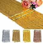 "12""x118""/108""/72'' Sequin Table Runners Wedding Party Banquet Tablecloth Decor"