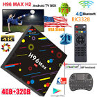 H96 Max H2 Smart TV Box Android 7.1 Quad-Core 4K 4G/32GB WiFi HD RK3328+keybaord