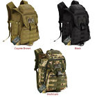 IDOGEAR Tactical Backpack Molle Shoulder Bag Water Resistant Paintball Camo 40L