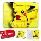( For iPad 9.7 , iPad 5 2017 ) Smart Case Cover A30283 Pokemon Pikachu