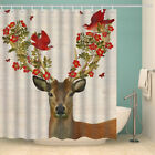 Youngshion Digital Printing Waterproof Polyester Bath Shower Curtain 70×70 Inch