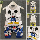 1 set baby Boys clothes cotton summer Top Tank  short pants kids outfits cute
