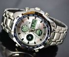 OROLOGIO UOMO CS COLLECTION  DA POLSO CRONOGRAFO NAUTICA MARE ACCIAIO WATCH new