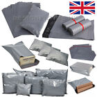 Grey Mailing Bags Self Seal Strong Postage Postal Poly Pack (165x230mm 6