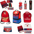 Arsenal FC Back To School Gym Bag Lunch Bag Bottle Child Boys Girls