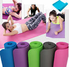 6 MM Exercise Yoga Pad Mat Non Slip Durable Pilates Physio Fitness Gym Cushion image