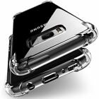 For Samsung Galaxy S8 S8 Plus Case Clear Hybrid Shockproof Soft TPU Bumper Cover