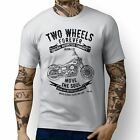 JL Soul Illustration For A Harley Davidson Street Bob Motorbike Fan T-shirt £19.99 GBP on eBay