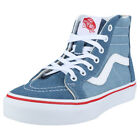 Vans Sk8-hi Zip Kids in Denim Cotton Trainers