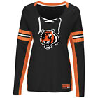 Cincinnati Bengals Women's Majestic Winning Style Tee - MSRP $45 - FREE SHIPPING on eBay