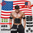 ELECTRIC MUSCLE TONER EMS MACHINE TONING BELT SIMULATION ABS FAT BURNER USSELLER