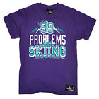 Skiing 99 Skiing Solves All Of Them funny top Birthday For Him T SHIRT T-SHIRT