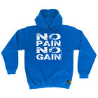 Gym Hoodie No Pain No Gain hoody bodybuilding training funny Birthday HOODY