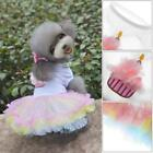 Cute Pet Dog Cat Bow Tutu Dress Lace Skirt Princess Costume Apparel Clothes