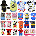 Newborn Baby Boy Girl Disney Marvel Cute Romper Jumpsuit Bodysuit Clothes Outfit
