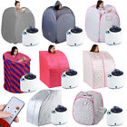 Home Steamer Sauna Spa Full Body Portable Pot Slimming Loss Weight Detox Therapy