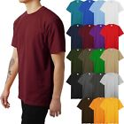 Mens HEAVY WEIGHT T Shirts SUPERMAX Plain Tee BIG AND TALL 5XL Solid Crew Neck