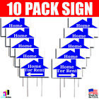 StoreInventory10x home for rent signs left right arrow double sided real estate marketing