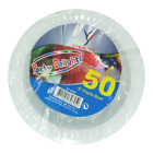 "New High Quality Party Delights 50 Pack White Plastic Bowls 5"" - Catering BBQ"