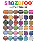 Professional SNAZAROO FACE & BODY PAINTS 18ml Fancy Dress Stage Make-Up Colours