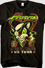Limited Edition NEW Vintage POISON Us Tour 86-87 Black Tshirt reprint