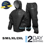 Frogg Toggs Rain Suit Ultra-Lite Jacket & Pants for All Sport Wear Carbon Black