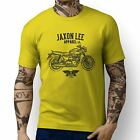 Jaxon Lee Triumph Bonneville T120 Black Inspired Motorbike Art T-shirts $25.22 USD on eBay