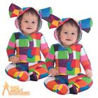 Baby Elmer the Elephant Costume Toddler Boys Girls Book Day Fancy Dress Outfit