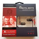 Mental Beats Xclusive High Definition Metal Earbuds With Mic