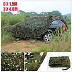 New Woodland leaves Camouflage Camo Army Net Netting Camping Military Hunting AS