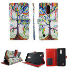 Folio Case Wallet For LG K8 2017 LV3 Risio Kickstand PU Leather ID Slot Cover