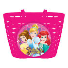 Disney® Bicycle Front Basket Kids Bike Cycle Shopping Childs Minnie Cars Frozen