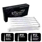 15,30,50,100pcs Disposable Sterile Professional Tattoo Needles RL,RS,F,M1,M2,RM
