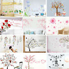 New Art Family Photo Frames Tree Birds Fly Wall Stickers Home Decor Living Room