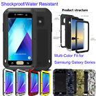 Heavy Duty Full-body Protect Aluminum Metal Rugged Tough Cover Case for Samsung