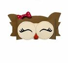 3D Owl Hair Bow