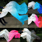 1 pairleft+right 15m 18m Belly dance bamboo Dance fan veil Gifts Beautiful