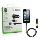 Belkin 2.1A 1 Port USB Car Charger For Apple iPhone Samsung Android Models