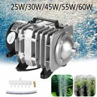 Aquarium Oxygen Pump Fish Tank Supply Pond Pool Electromagnetic Air Compressor