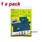 Korjo Belt Bag Waist Money Bag Travel Wallet--3 Ample Zippered Compartments BB41
