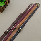 Leather Adjustable Bag Strap Shoulder Purse Replacement Handbag Cross Body 120cm
