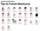 nail wrap - Jamberry Nail Wraps In-Stock Selection of FRENCH MANICURES & TIPS ~ HALF SHEETS