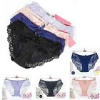Sexy Womens Lace Mesh Briefs Thongs Underwear Lingerie Seamless Knickers Panties