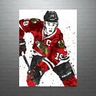 Jonathan Toews Chicago Blackhawks Poster FREE US SHIPPING $15.0 USD on eBay