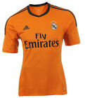 ADIDAS REAL MADRID JERSEY MAILLOT ORANGE THIRD 2013/2014 ORIGINAL Z29454 NWT  <br/> FREE WORLDWIDE REGISTERED SHIPPING,DONT PAY MORE!
