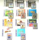 Authentic Vintage Gameboy Games and Manual ~ Plays on GBA SP DS DSL ~ Mario Mega