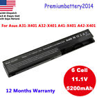 Lot New 6 Cell Replacement Battery for ASUS A32-X401 X301A X401A X501A Laptop