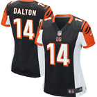 Nike Andy Dalton Cincinnati Bengals Game NFL Jersey #14 Heatpress  Womens 2XL $43.31 USD on eBay