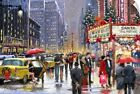 Wall Decal entitled New York Theater Xmas